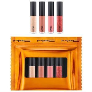 M.A.C Pretty Favours Mini Lip glosses
